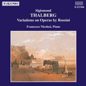 Thalberg: Variations on Operas by Rossini