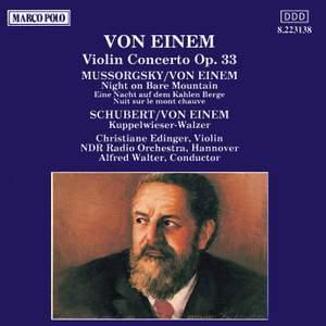Von Einem: Violin Concerto, Op. 33