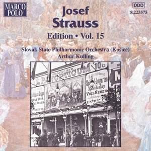 Josef Strauss Edition, Volume 15
