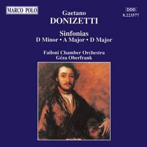 Donizetti: Sinfonias Product Image