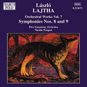 László Lajtha: Symphonies Nos. 8 and 9 Product Image