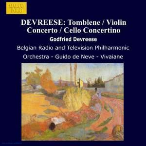 Godfried Devreese: Tomblene, Violin Concerto & Cello Concertino Product Image