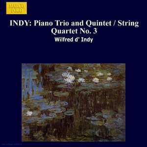 Vincent d'Indy: Piano Trio, Quintet & String Quartet No. 3 Product Image