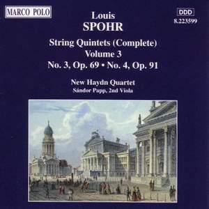 Spohr: String Quintets, Vol. 3 Product Image