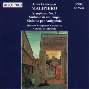 Malipiero: Symphony No. 7, 'Delle canzoni' Product Image