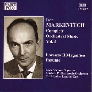 Igor Markevitch: Orchestral Music, Vol. 4