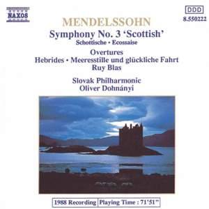 Mendelssohn: Symphony No. 3, 'Scottish'