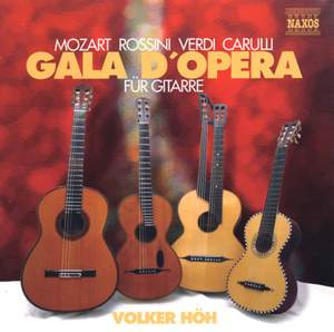 Opera Gala for Guitar Product Image