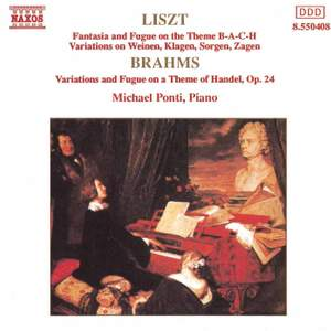 Liszt & Brahms: Piano Variations Product Image