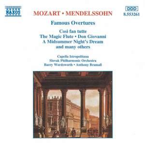Mozart & Mendelssohn: Famous Overtures