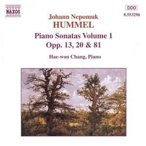 Hummel: Piano Sonatas, Vol. 1
