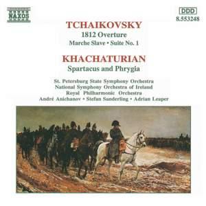Tchaikovsky: 1812 Overture, Marche slave & Suite No. 1 in D major