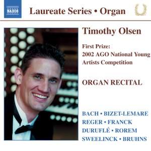 Organ Recital: Timothy Olsen