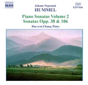 Hummel: Piano Sonatas, Vol. 2 - Nos. 4 & 6