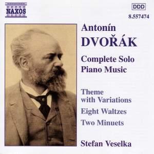 Dvorak: Solo Piano Music Product Image