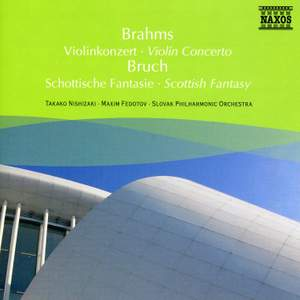 Brahms: Violin Concerto & Bruch: Scottish Fantasy Product Image