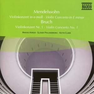 Mendelssohn & Bruch: Violin Concertos Product Image
