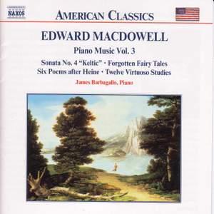 Edward MacDowell: Piano Music Vol. 3