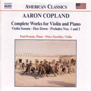 Copland: Complete Works for Violin and Piano