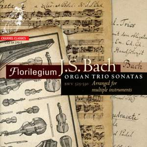 JS Bach: Organ Trio Sonatas (arranged for multiple instruments) Product Image