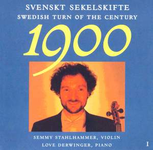 Swedish Turn of Century, Vol. 1 Product Image
