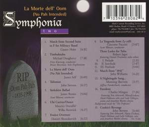 Symphonia, Vol. 2: La Morte dell' Oom (No Pah Intended) Product Image