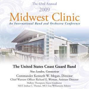 United States Coast Guard Band: 2009 Midwest Clinic