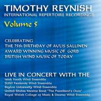 Timothy Reynish Live In Concert, Vol. 5