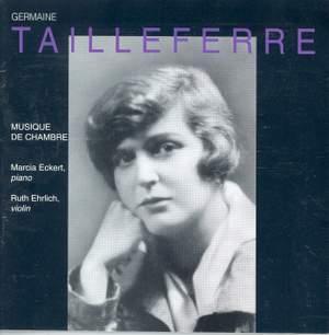 G Tailleferre: Violin Sonatas Nos. 1 & 2, Chamber Works