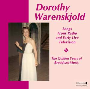 Warenskjold, Dorothy: Songs From Early Radio and Television