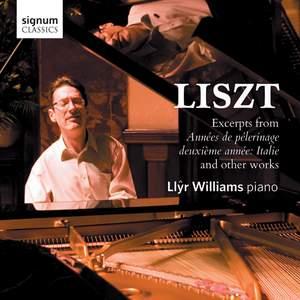 Liszt: Années de Pèlerinage, deuxième année: Italie S161 Product Image