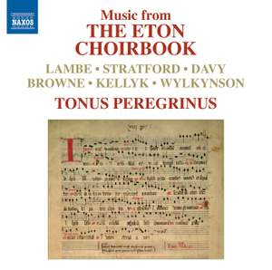 Music from THE ETON CHOIRBOOK