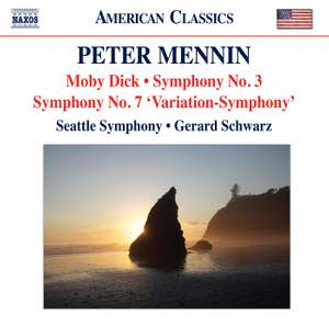 Peter Mennin: Moby Dick & Symphony No. 3 Product Image