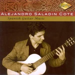 Guitar Recital: Cote, Alejandro Saladin - TURINA, J. / TARREGA, F. / ALBENIZ, I. / PUJOL, E. / LLOBET SOLES, M.