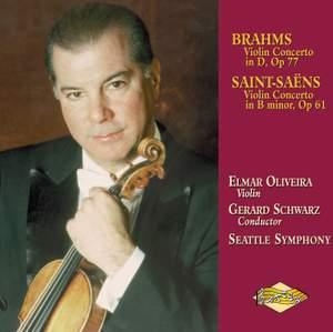 Brahms & Saint-Saens: Violin Concertos Product Image