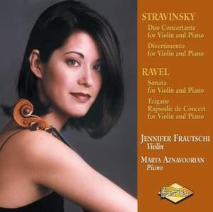 Stravinsky: Duo Concertante & Ravel: Violin Sonata