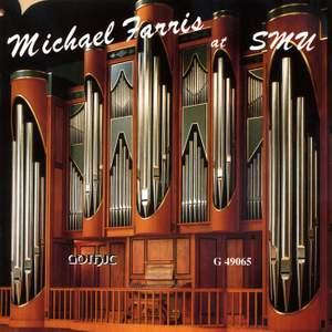Michael Farris at Caruth Auditorium, Southern Methodist University, Dallas, Texas: Fisk Organ