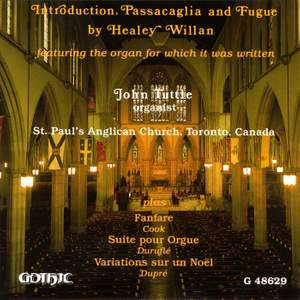 Willan: Introduction, Passacaglia and Fugue & other organ works