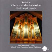 Vogel, Harald: Recital at Church of the Ascension