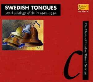 Swedish Tongues: An Anthology of Choirs (1900-1950)