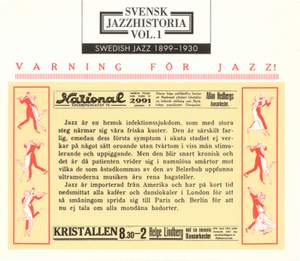 Swedish Jazz History, Vol. 1 (1899-1930)