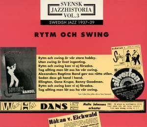 Swedish Jazz History, Vol. 3 (1937-1939)