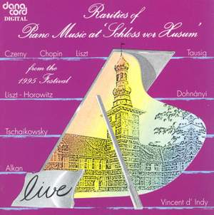 Rarities of Piano Music at the Husum Festival 1995