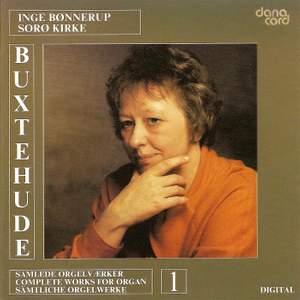 Buxtehude: Organ Music Vol. 1