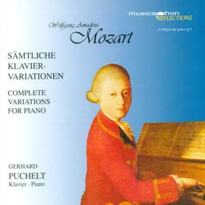 Mozart: Complete Variations for Piano