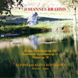 Brahms: Works for Piano Duet