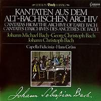 Cantatas From the Archive of Early Bach