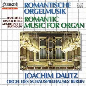 Romantic Music for Organ