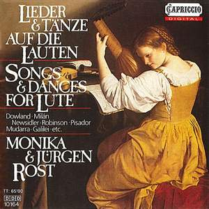 Songs and Dances for Lute