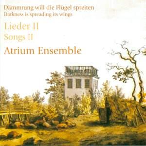 Vocal Music - HAUPTMANN, M. / WOLF, H. / SCHUMANN, R. / MENDELSSOHN, Felix / SILCHER, F. / GLUCK, F. / STRUBBE, A. (Atrium Ensemble)